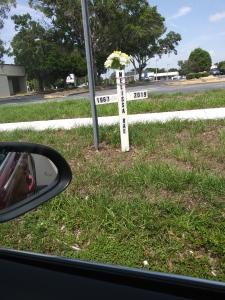 Roadside Grave